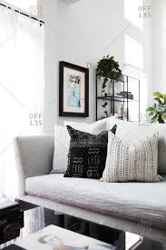 Modern bright living room Airy 2016 Couch In Bright Living Room Issuehqco Modern Bright Living Room Interiores Stock Photos Offset