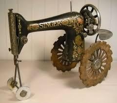 Repurposed Repurposed Antique Sewing Machine Sewing Organization To Hold