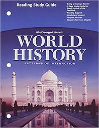 World History Patterns Of Interaction Online Textbook New World History Patterns Of Interaction Reading Study Guide English