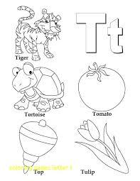 things that begin with the letter t letter t coloring page coloring pages letter t with things es with