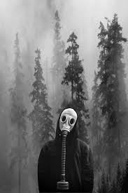 Image result for gas mask boy dead