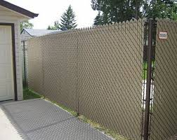 image of lowe s chain link fence slats