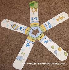 oh the places you ll go custom painted ceiling fan blades