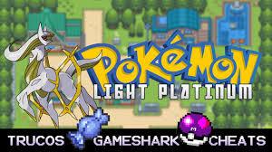 Cheat Pokemon Light Platinum Gba Gameshark Rare Candy