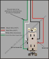 split plug wiring diagram Outlet Wiring Design Wiring Outlets in Series Diagram