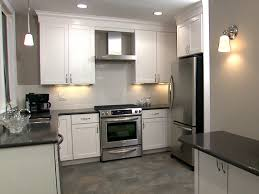 Kitchen white cabinets tile floor Video and Photos