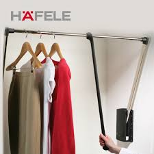 hafele hafele dropdown rod for hanging clothes wardrobe cloakroom lift device for hanging clothes hangers in on alibaba com