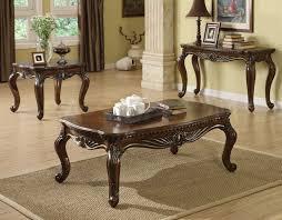 Coffee Table Set Of 3 Coffee Table End Table Set Zab Living