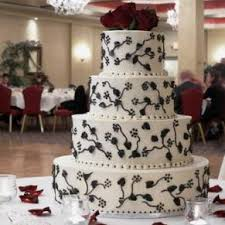 white wedding cake with rose - wedding-cake-with-roses-t_org_7038022705