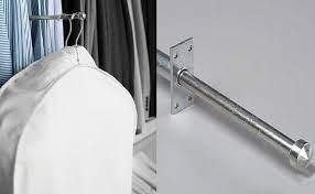 closet valet rods and hooks