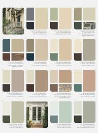 Photo Gallery of The House Paint Color Schemes Exterior Pict