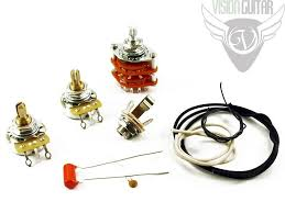 wiring kits product categories vision guitar quality prs wiring upgrade kit orange drop cap cts pots switchcraft