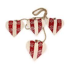 <b>Гирлянда подвесная Christmas</b> Hearts, 4 шт. от <b>Enjoyme</b> (арт ...