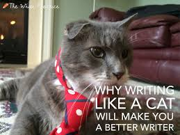why writing like a cat will make you a better writer write like a cat