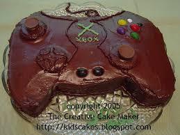 The Creative Cake Maker Xbox Controller Cake
