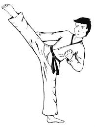 karate coloring pages printable karate coloring pages printable