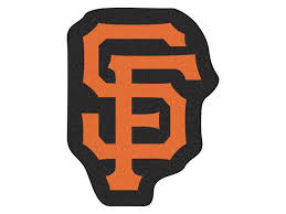 mlb san francisco giants mascot novelty logo shaped area rug