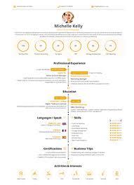 Timeline Resume Builder Template Realtime Cv