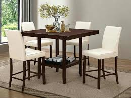 counter height table with chairs coaster counter height table set a counter height dining table set