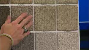 Home Depot Finding the right carpet for your home