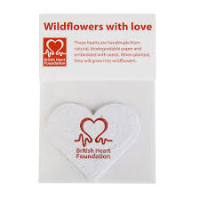 Biodegradable Paper With Flower Seeds Wildflowers With Love Flower Seeds 5 Pack