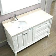 vanities right side sink vanity 48