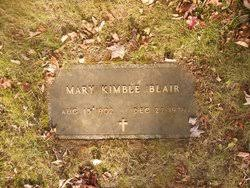 Mary Louella Kimble Blair (1902-1979) - Find A Grave Memorial