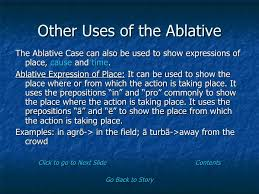 what is ablative