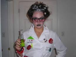 makeup for autumns mad scientist costume
