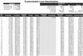 Loan Amortization Excel Template Elegant Loan Payment Spreadsheet