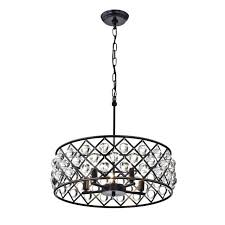oil rubbed bronze crystal chandelier 5 light crystal drum chandelier ceiling fixture oil rubbed bronze in