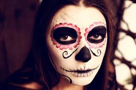 dc0ebdcfae31cc1fa528f66026c89cf1 tutorial day of the dead makeup easy to crazypants how