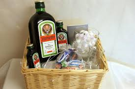 our brand new jagermeister gift basket makes a great gift idea for 18th and 21st birthdays