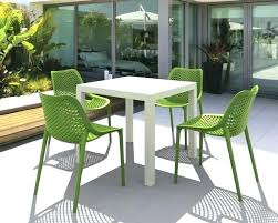 exotic plastic garden table round green plastic garden table plastic outdoor table and chairs size of