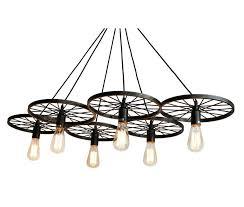 barnyard wagon wheel rustic chandelier oil rubbed bronze