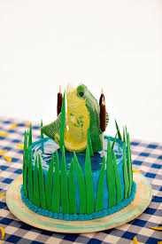 Grooms Cake With Fish A Wedding Cake Blog