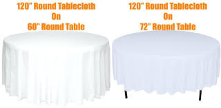 round tablecloth inches with inch prepare sizes for 60 rectangle tablecloth sizes round