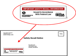 New Mandatory Recall Label For Notification Letters