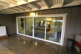 ft 4 panel sliding glass door conversion this wall milgard sliding door milgard sliding door s