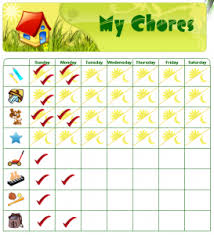 Chore Chart Samples Editing Your Preschoolers Chore Chart Is Easy And Fun Mytime