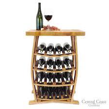 Image Bottles Image Is Loading 16bottlewinebarrelstavewinerackholder Ebay 16 Bottle Wine Barrel Stave Wine Rack Holder Rustic Furniture Solid