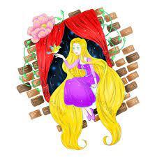 Vẽ tay câu chuyện cổ tích Rapunzel yếu tố thương mại hình ảnh hoạt hình    Công cụ đồ họa PSD Tải xuống miễn phí - Pikbest