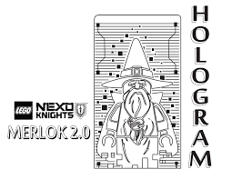 Small Picture Merlock 20 Coloring Page Printable Sheet LEGO Nexo Knights