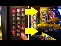 Free Stuff Vending Machine Gorgeous GET FREE CANDY FROM ANY VENDING MACHINE Life Hacks YouTube