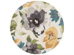 loloi rugs francesca fc 39 3 0 round grey yellow area rug fracfc 39gyye rou