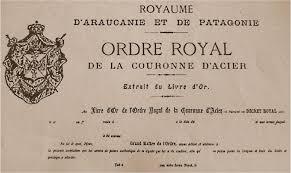 """Résultat de recherche d'images pour """"la couronne de Orélie- Antoine 1er roi de Patagonie"""""""