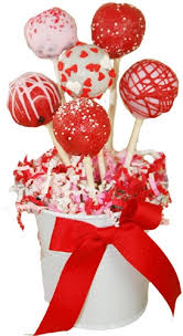 Valentines Day Gifts Fascinating Cake Pops Valentine's Day Bouquet Of 48