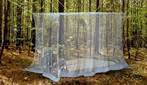 Premium Mosquito Net for Double Bed by Naturo + 2 Insect Repellent  Bracelets - Full Hanging