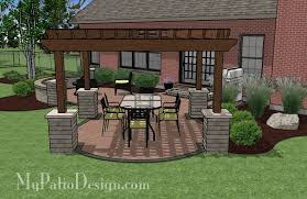 Pergola designs for patios how to make your own design ideas 14