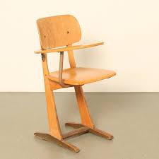 vintage school desk chair by carl sesse for casala